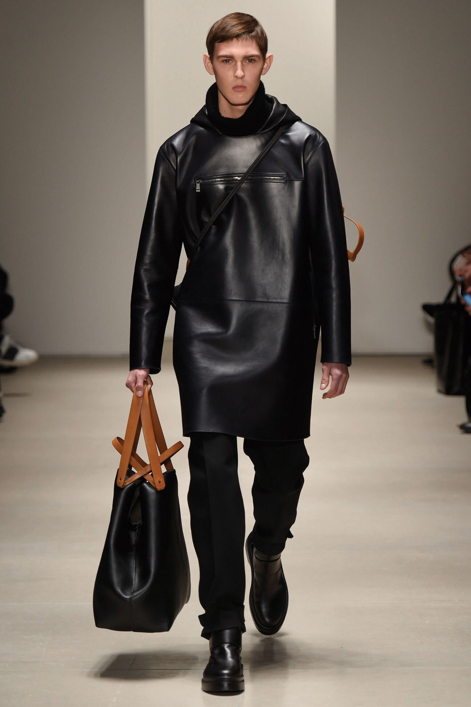 Winter Suit Trends 2015 Man Jil Sander