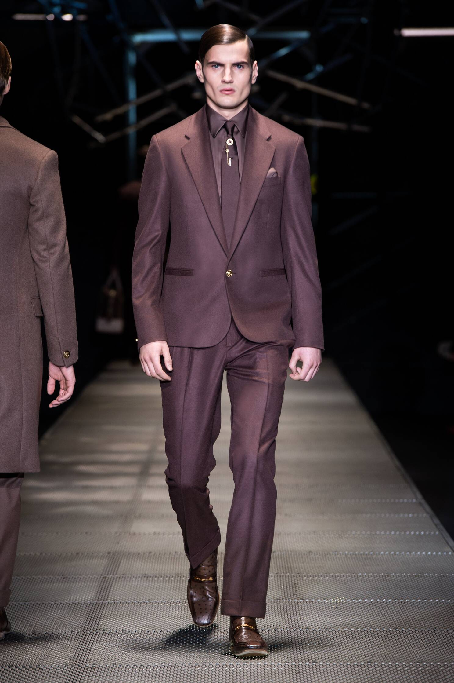 Winter Suit Trends 2015 Man Versace