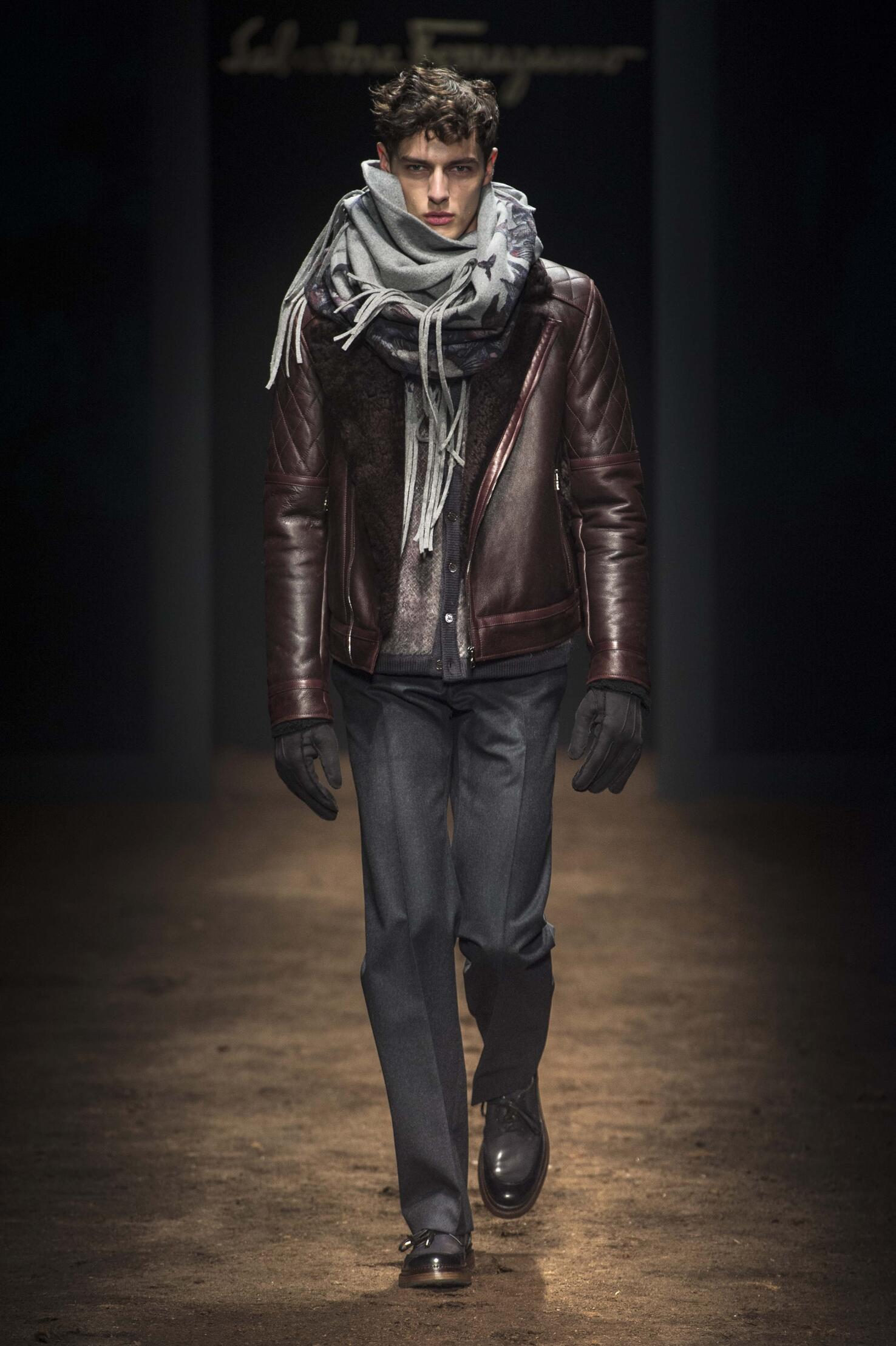Winter Trends 2015 Man Salvatore Ferragamo