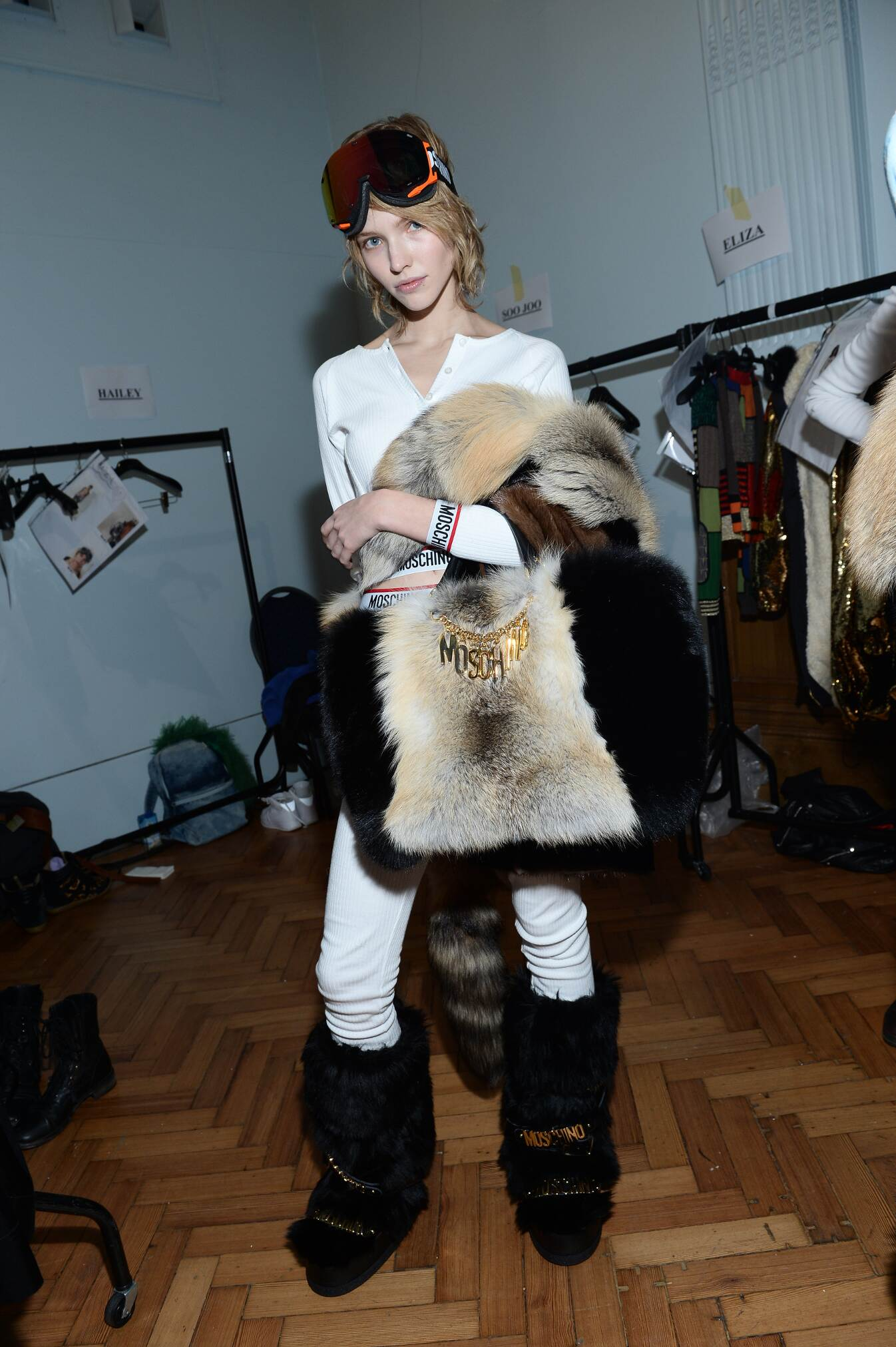 Woman Trends 2015 Backstage Moschino London