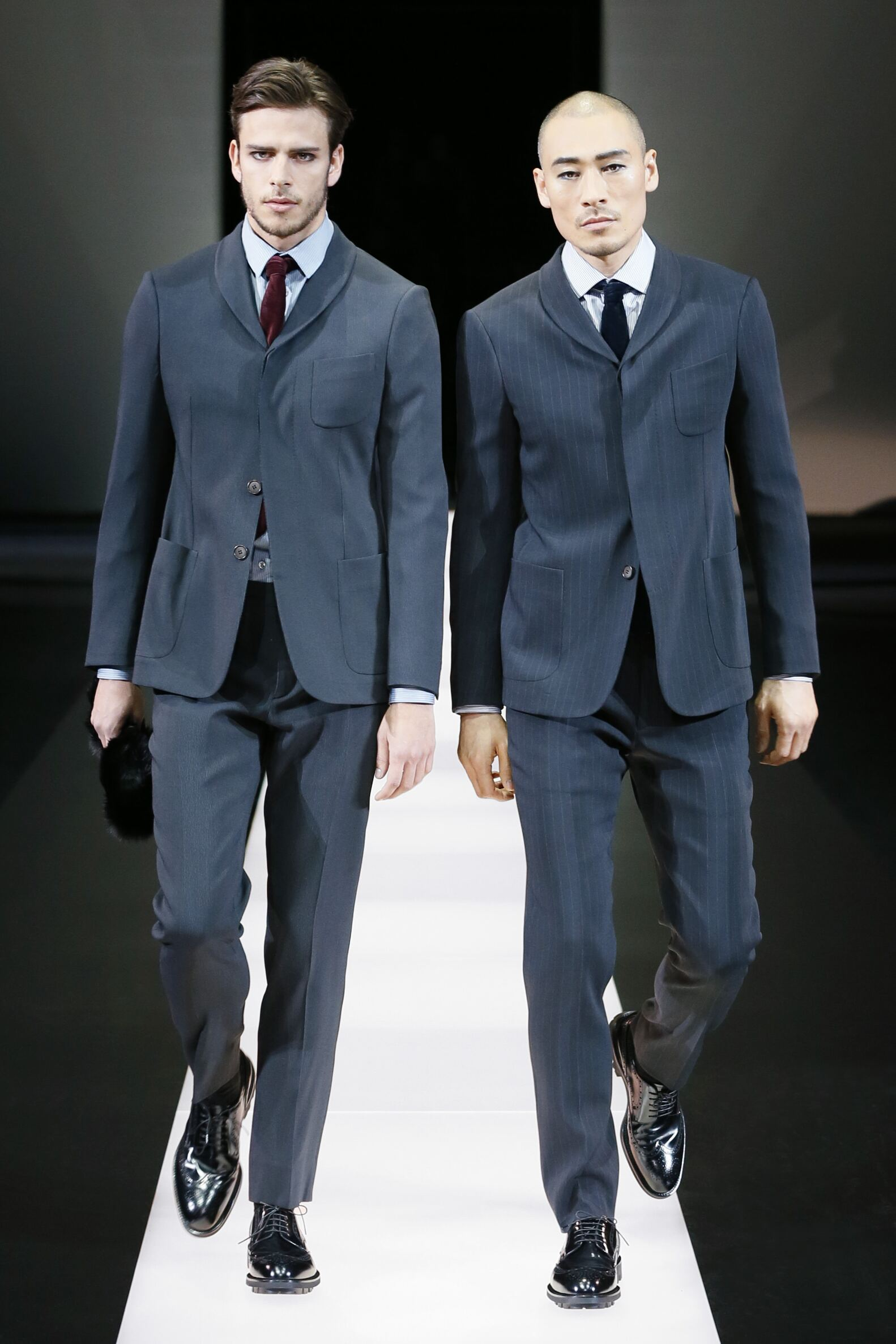 2015 2016 Giorgio Armani Collection Winter Catwalk
