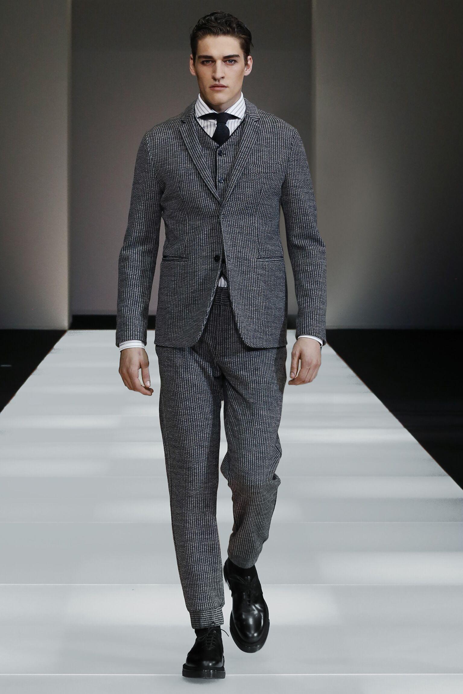 2015 2016 Winter Fashion Trends Emporio Armani Collection