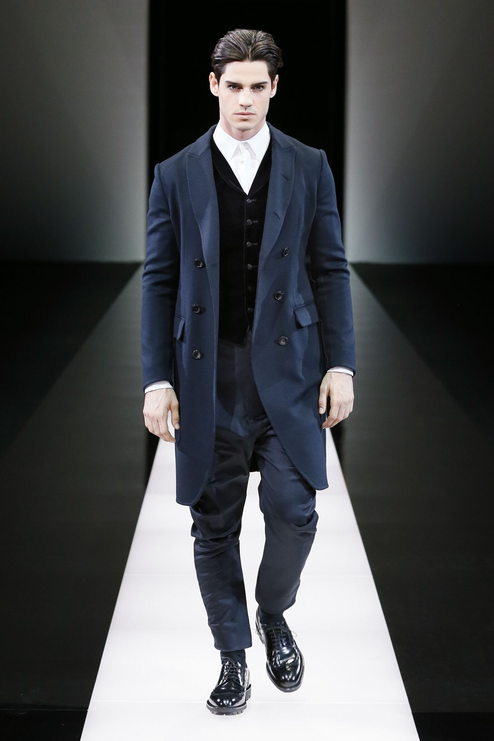 2015 2016 Winter Fashion Trends Giorgio Armani Collection