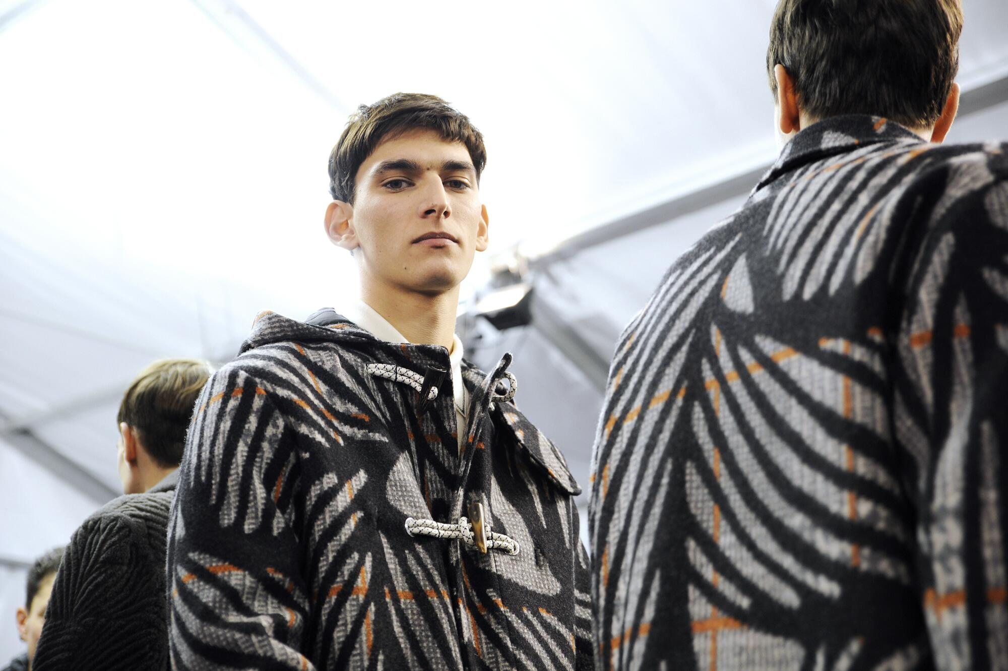 2015 Backstage Louis Vuitton Men