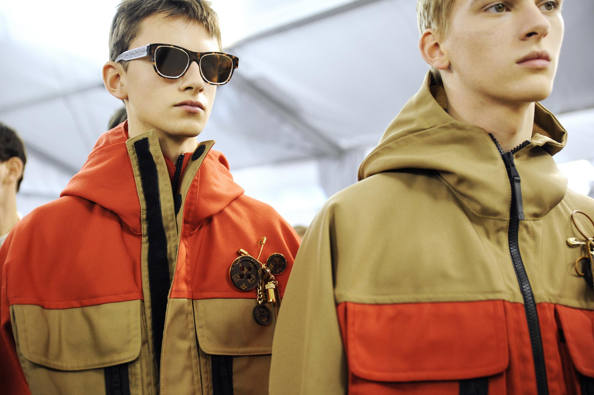 2015 Backstage Louis Vuitton Mens Trends