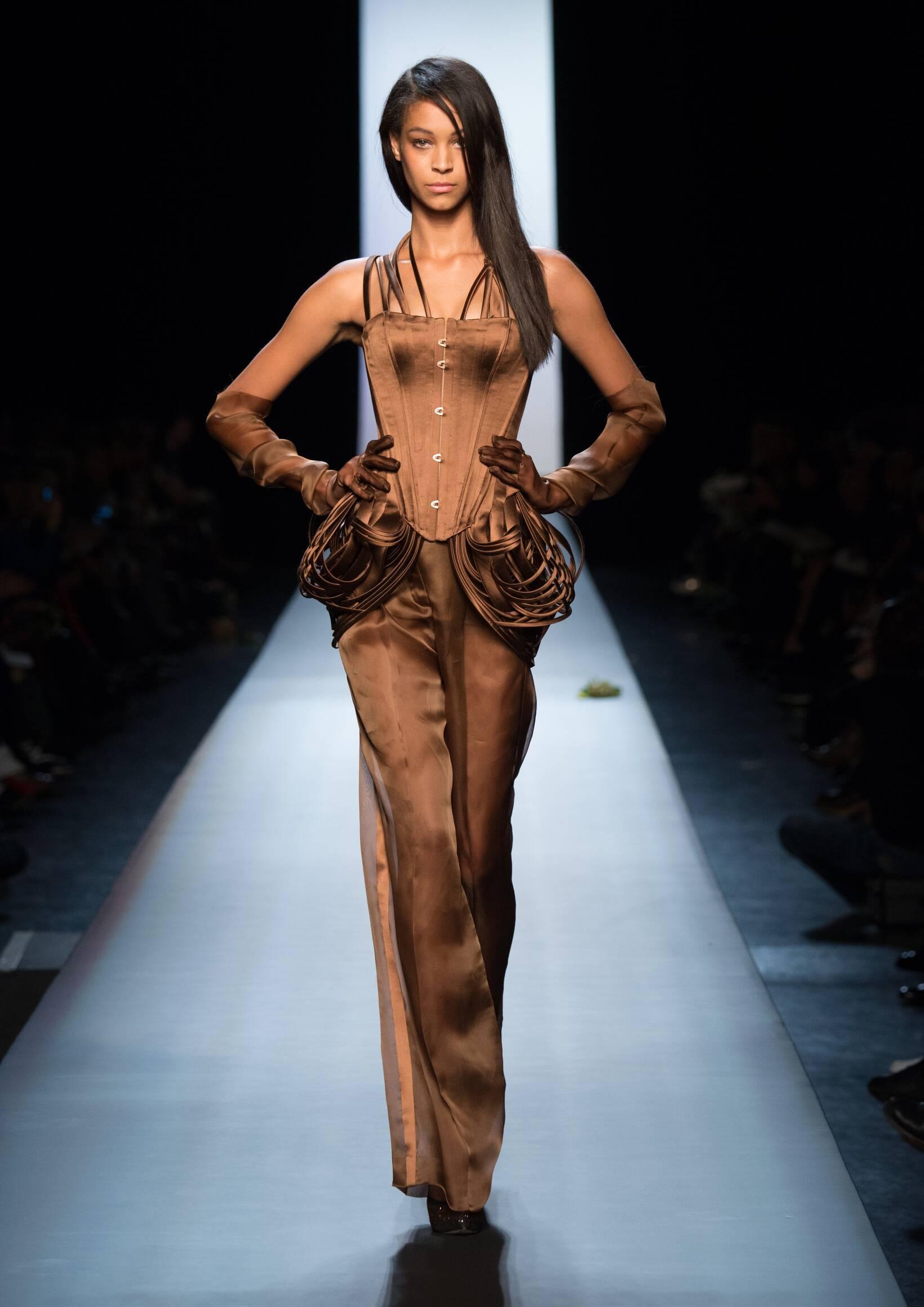2015 Catwalk Jean Paul Gaultier Haute Couture Collection Fashion Show Summer