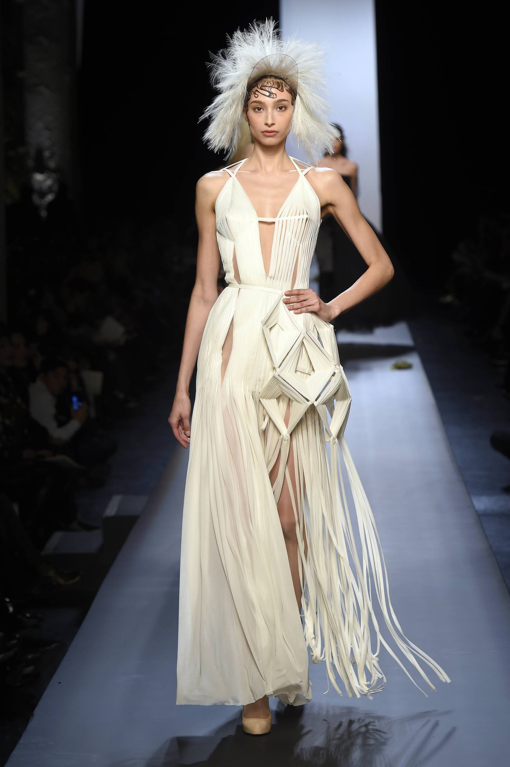 2015 Catwalk Jean Paul Gaultier Haute Couture Spring Summer Women's Collection Paris Fashion Week