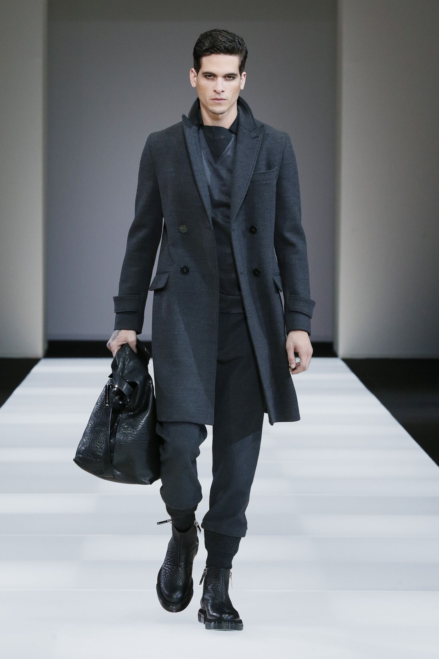 2015 Emporio Armani Collection Fashion Trends