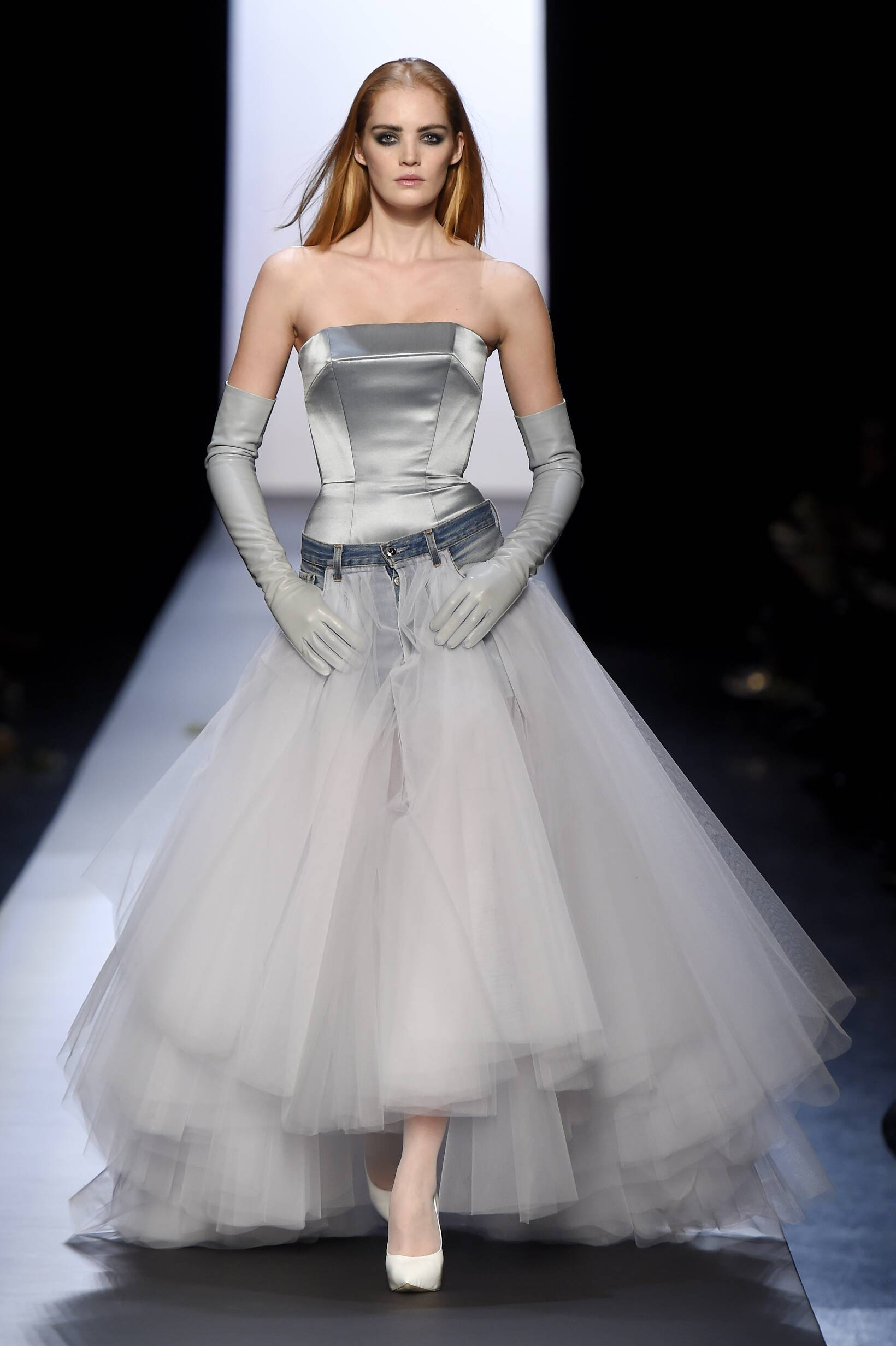 2015 Jean Paul Gaultier Haute Couture Collection Summer Catwalk