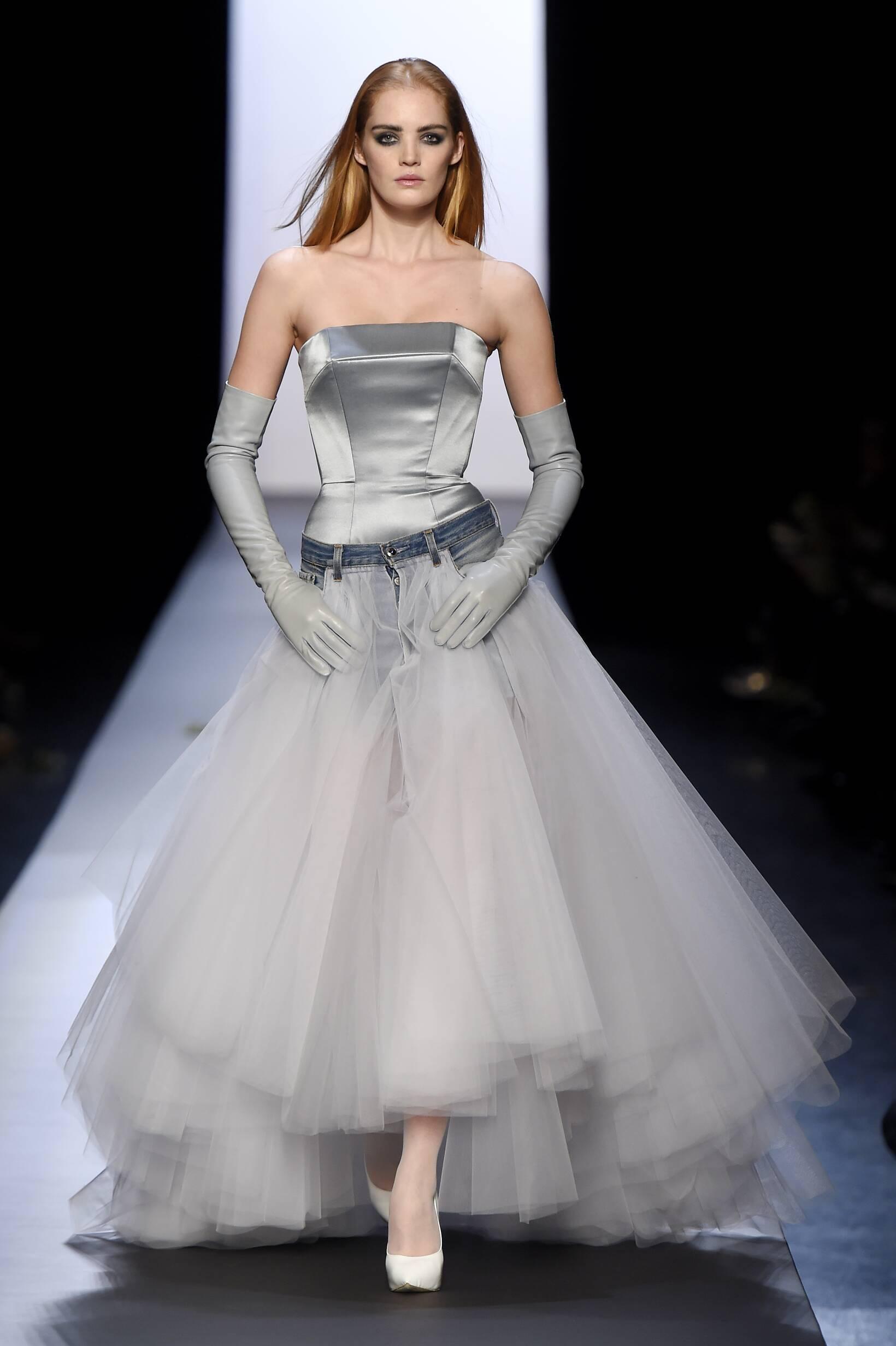 2015 Jean Paul Gaultier Haute Couture Collection Summer Catwalk