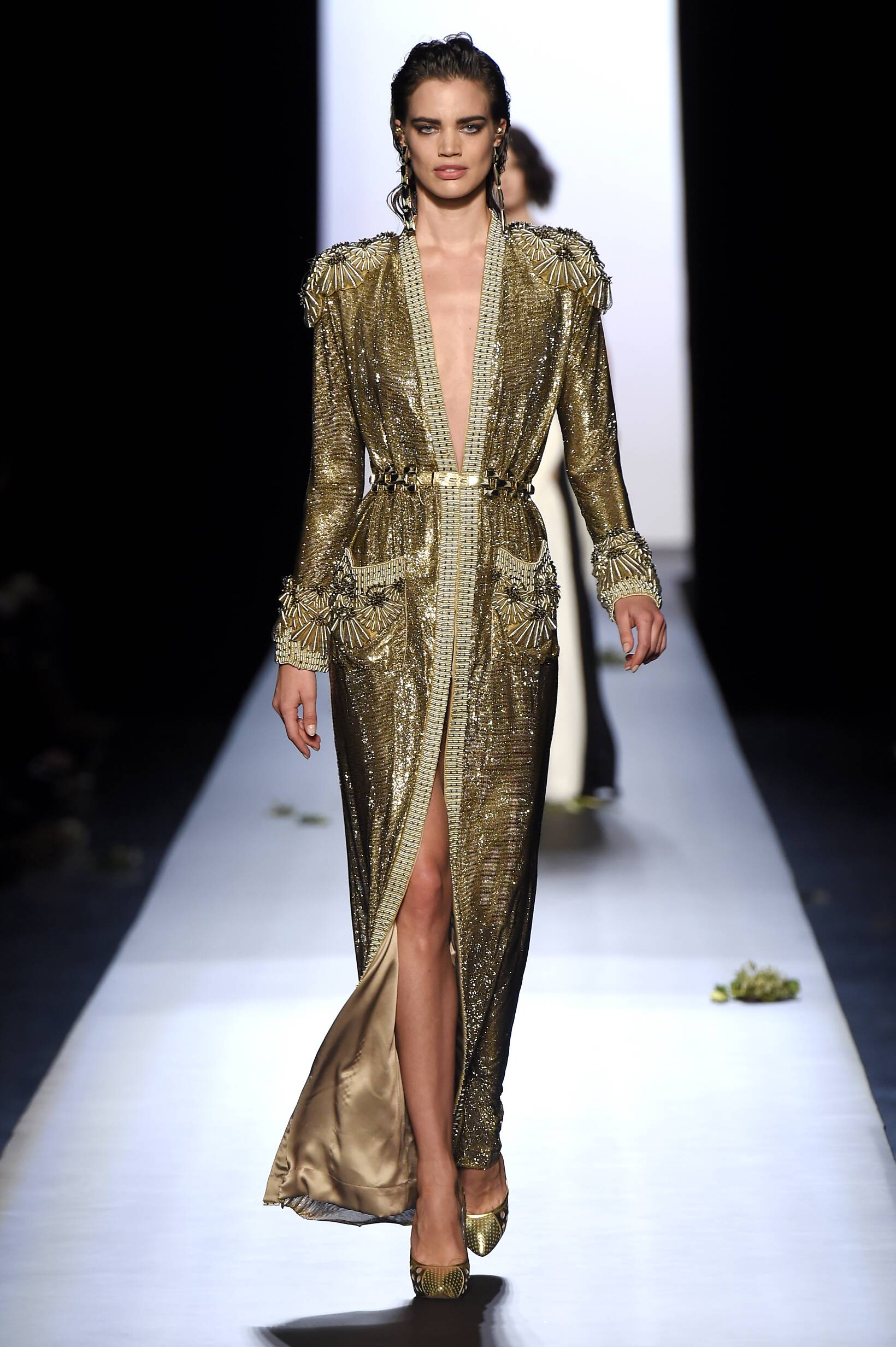 2015 Jean Paul Gaultier Haute Couture Collection Summer Runway
