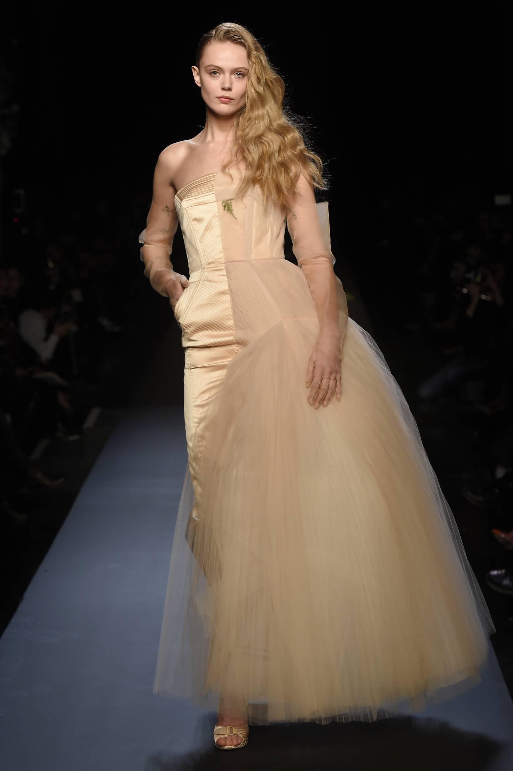2015 Jean Paul Gaultier Haute Couture Fashion Woman