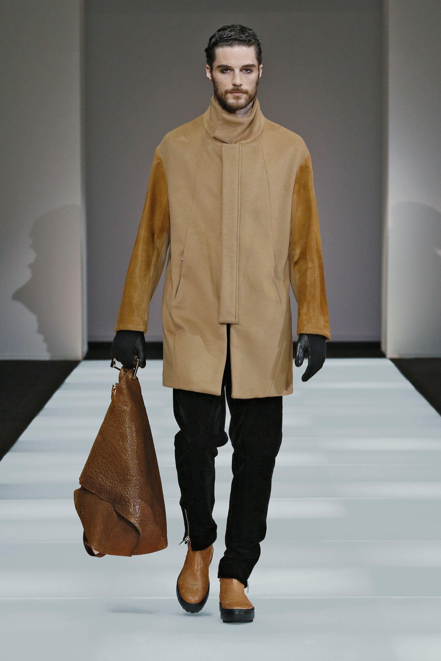 2016 Fall Fashion Man Emporio Armani Collection