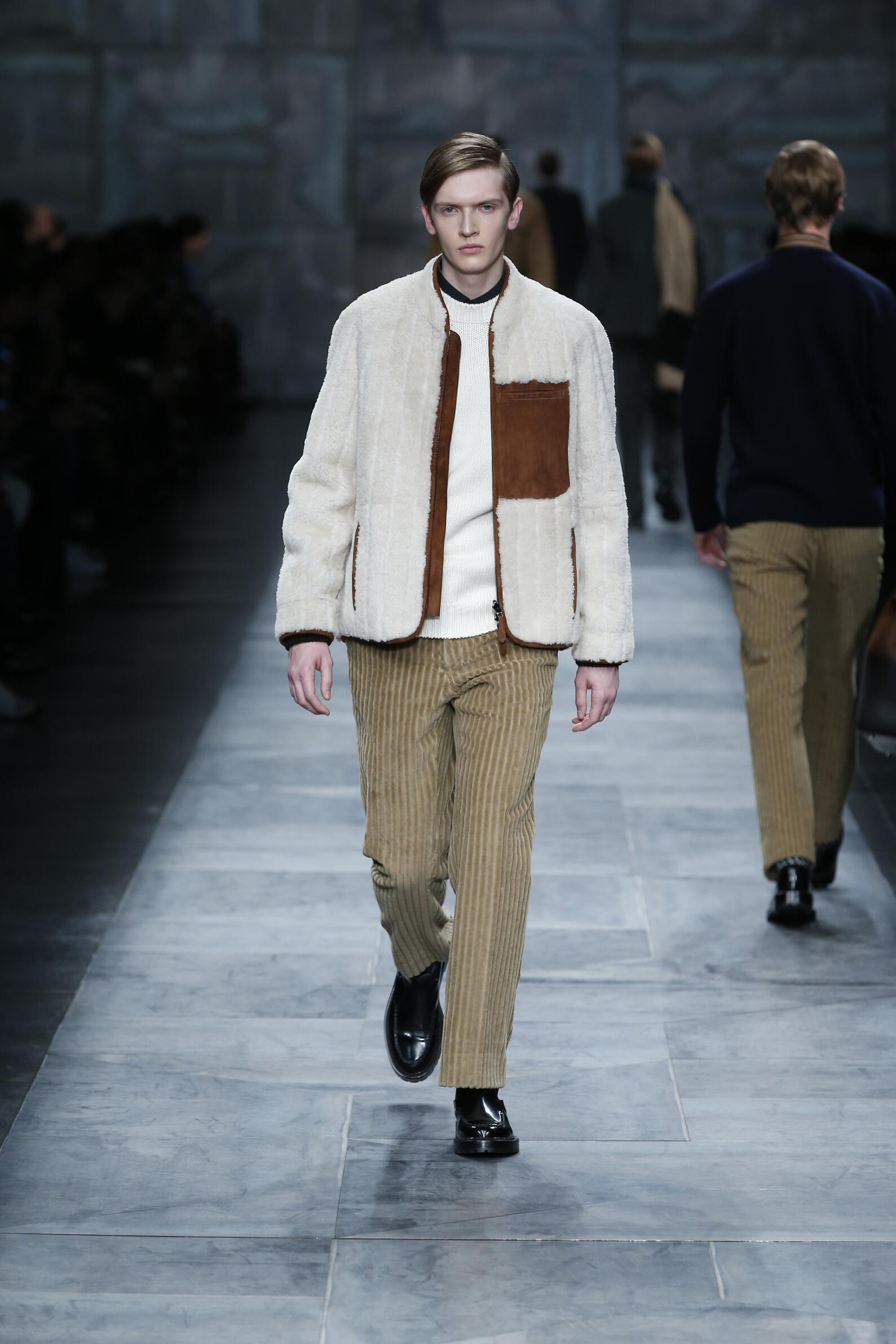 2016 Fall Fashion Man Fendi Collection