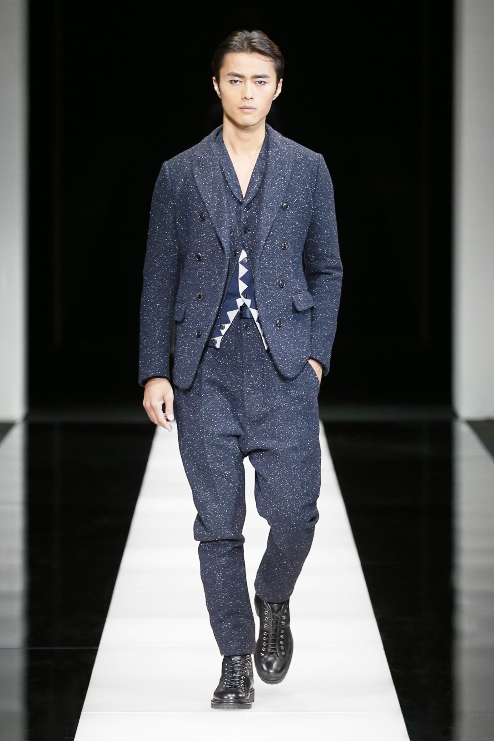 2016 Fall Fashion Man Giorgio Armani Collection