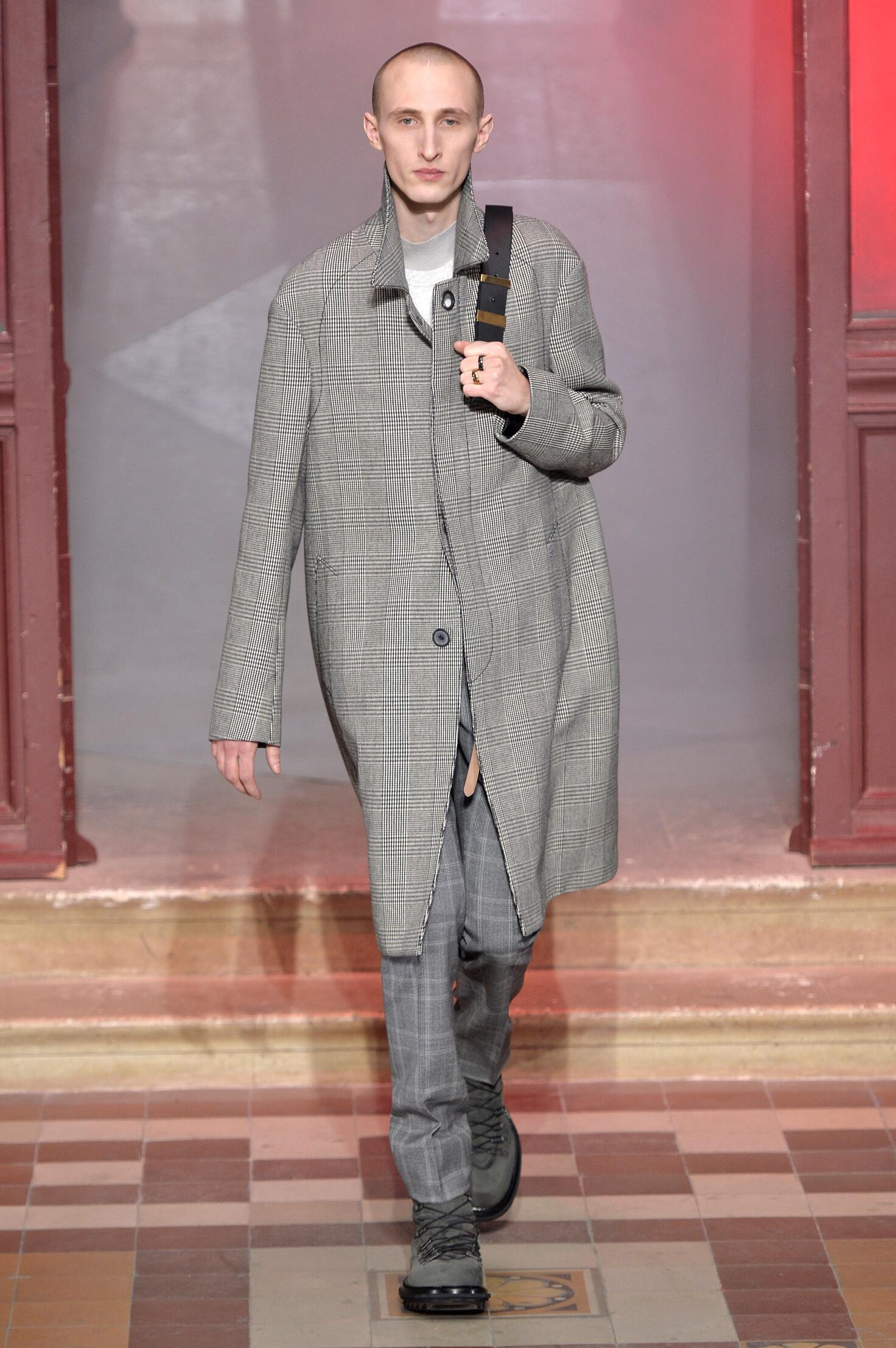 2016 Fall Fashion Man Lanvin Collection