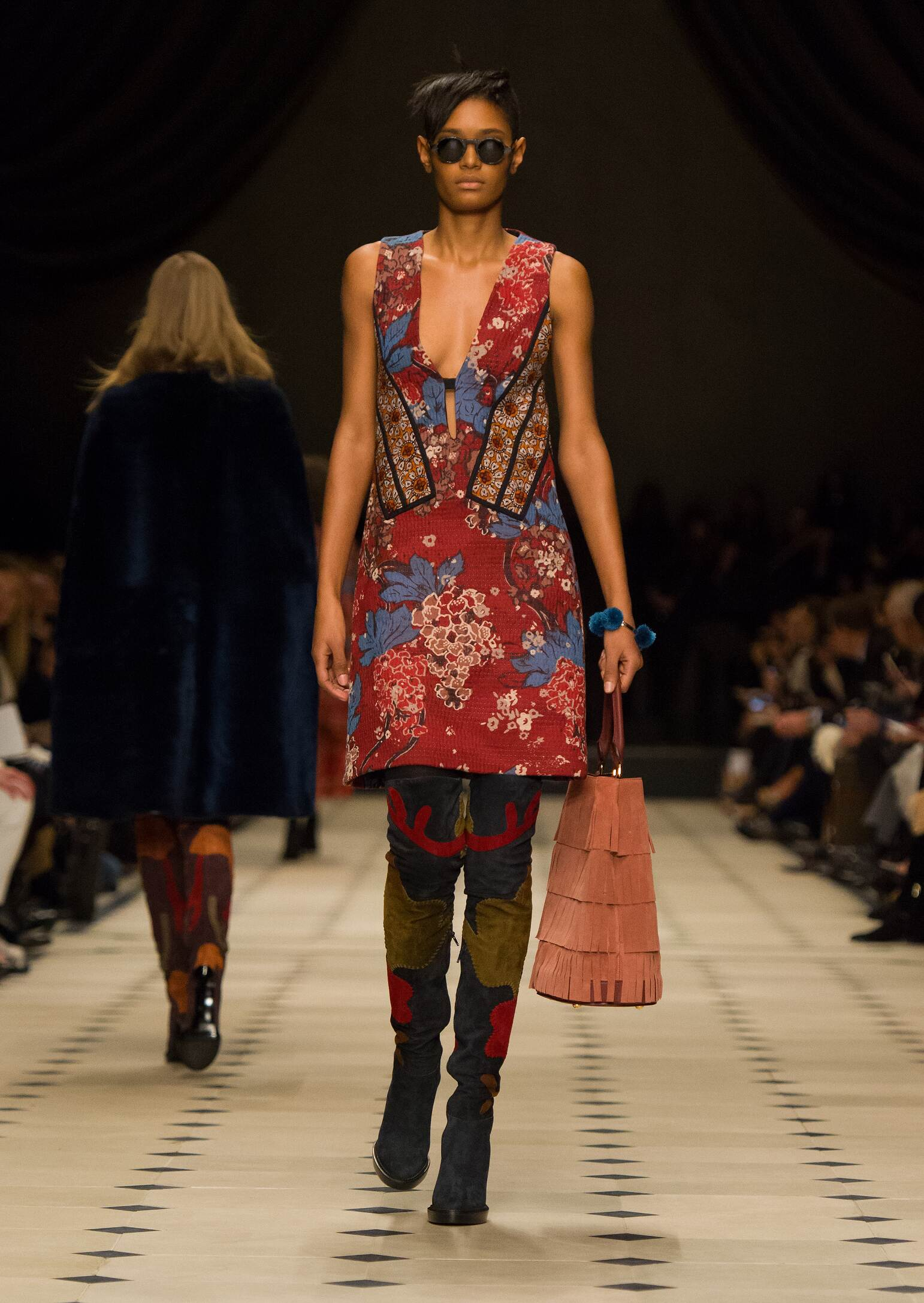 2016 Fall Fashion Woman Burberry Prorsum Collection