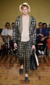 ANDREA INCONTRI SPRING SUMMER 2015 MEN'S COLLECTION – MILANO FASHION WEEK