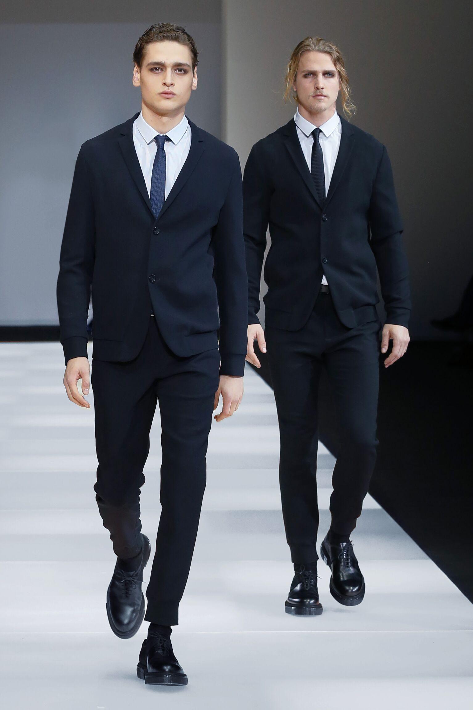 Autumn Emporio Armani Collection Fashion Man