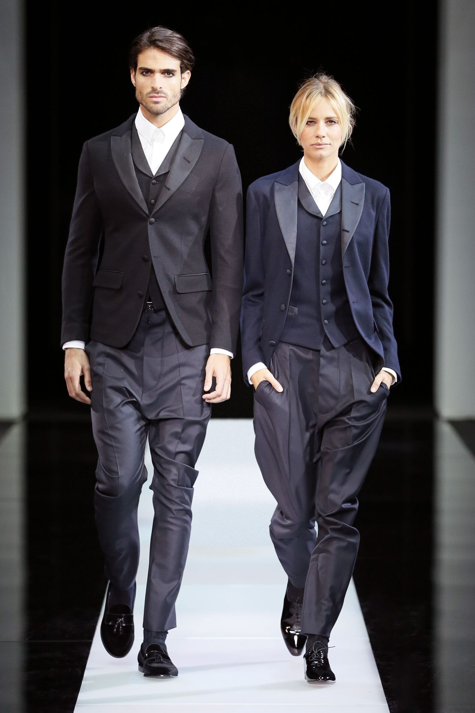 Autumn Giorgio Armani Collection Fashion Man and Woman