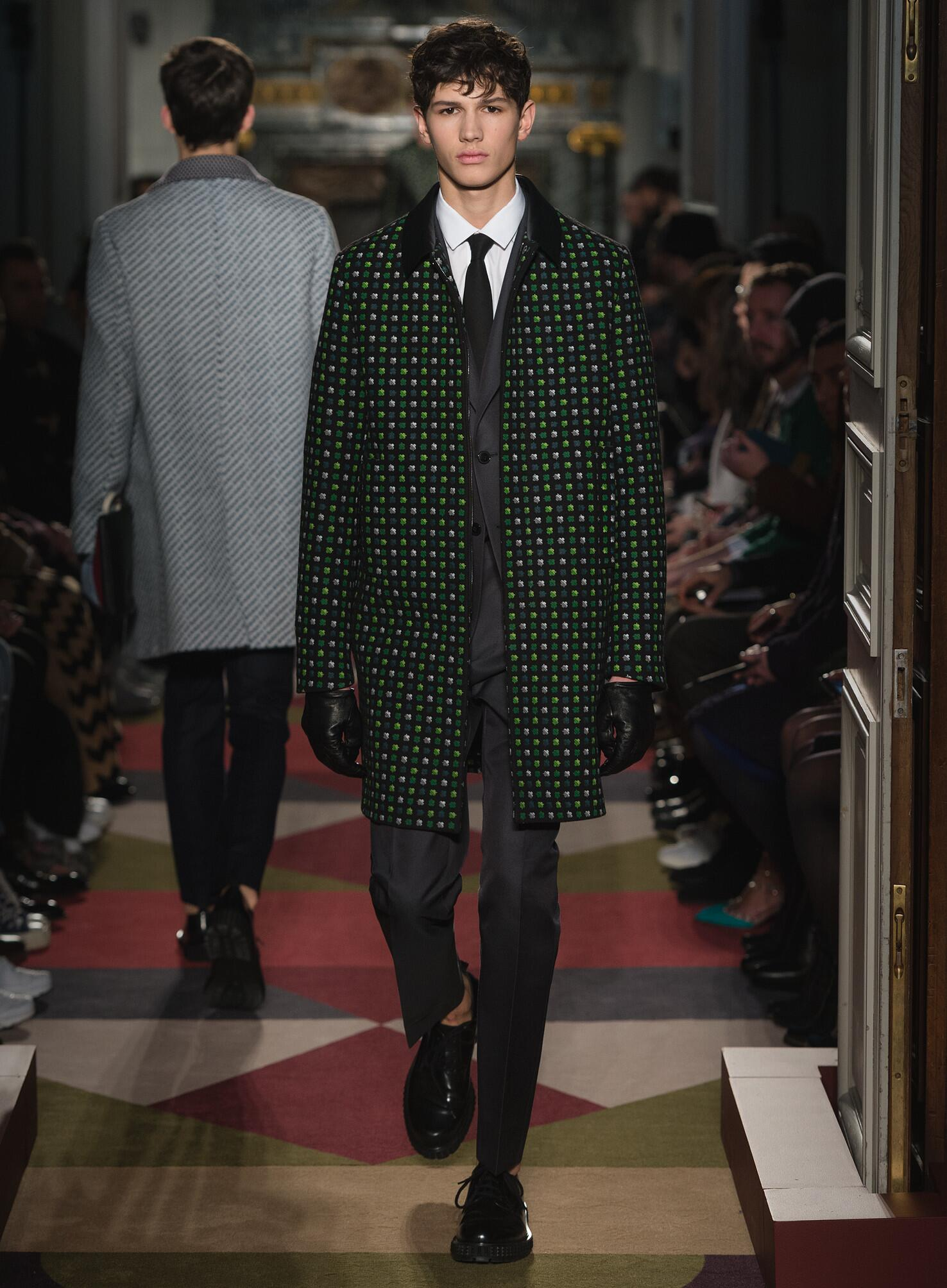 Autumn Valentino Collection Fashion Menswear