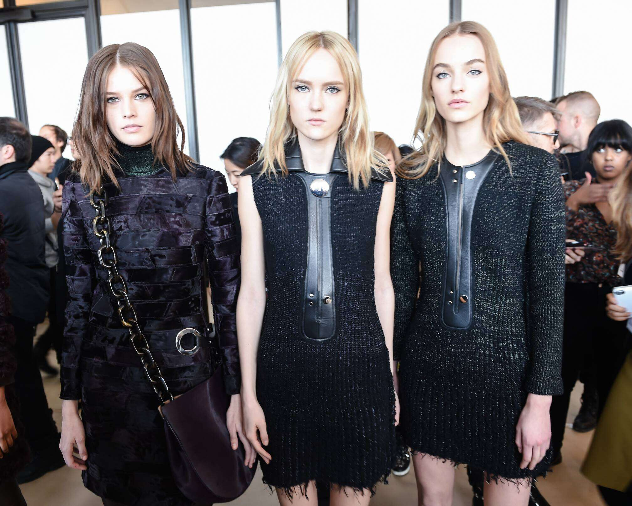 Backstage Calvin Klein FW 2015 New York
