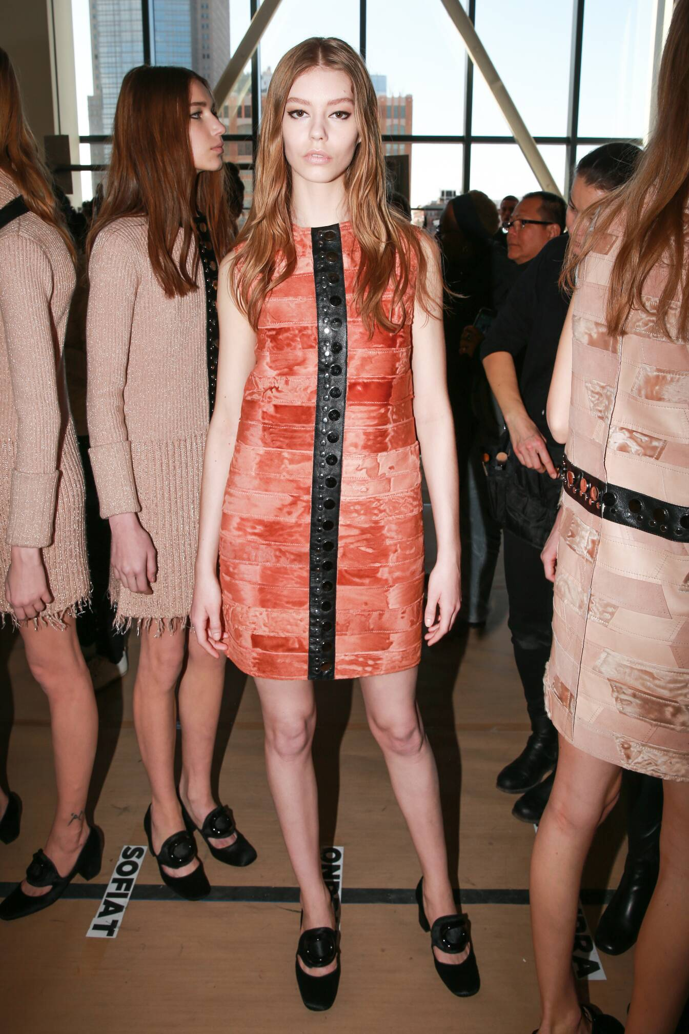 Backstage Calvin Klein Fall Winter 2015 Womenswear