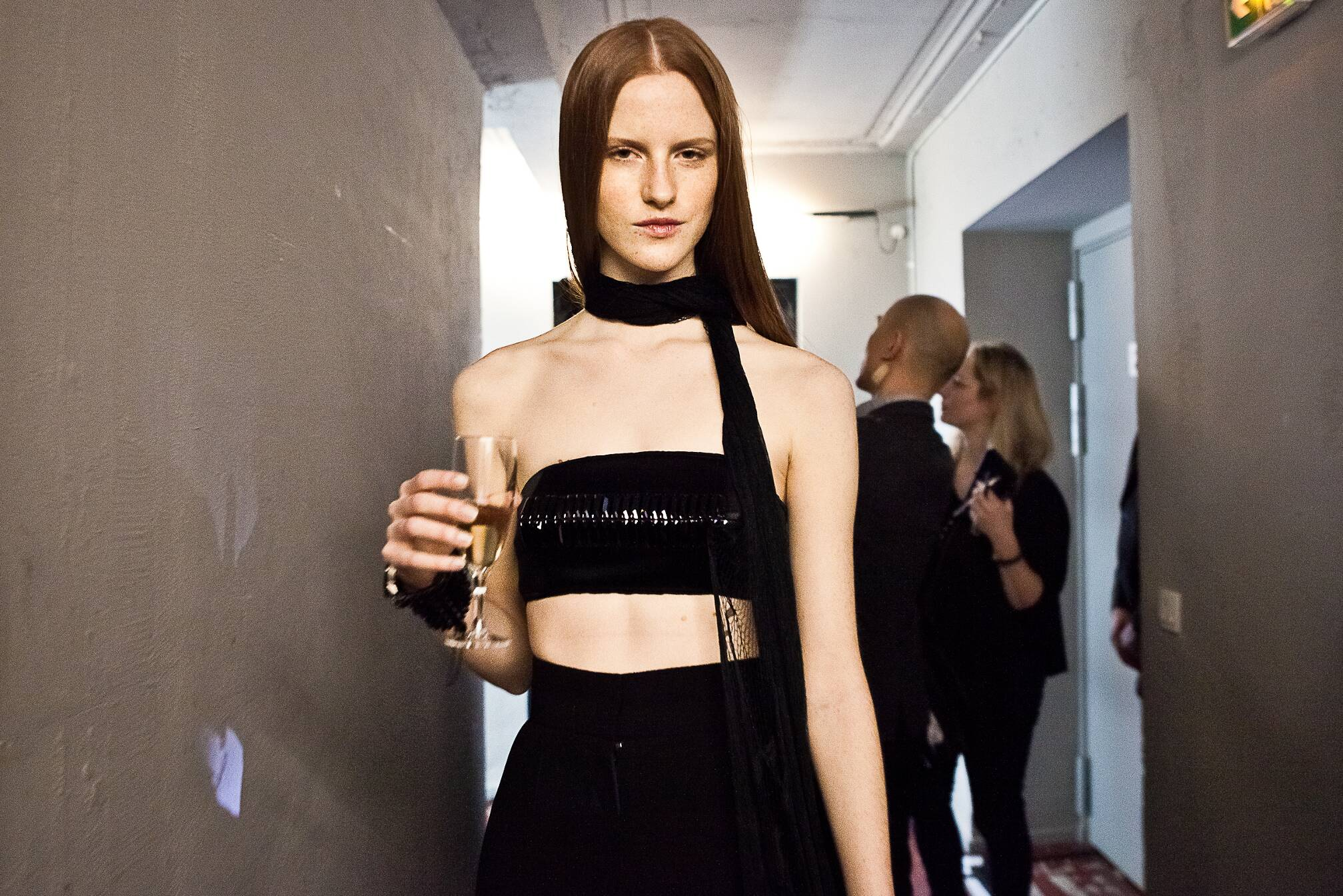Backstage Jean Paul Gaultier Haute Couture Fashion Show