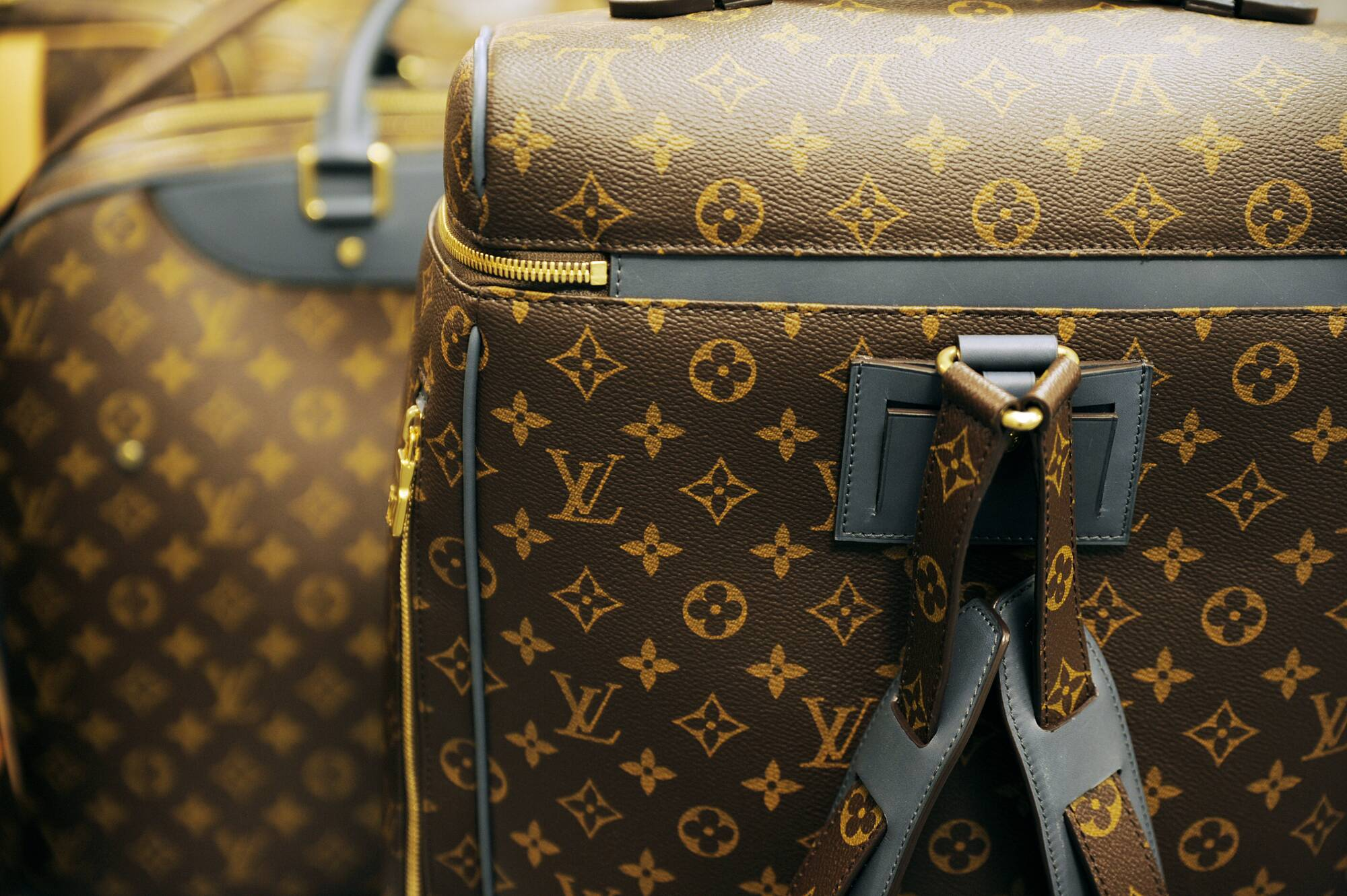 Backstage Louis Vuitton Bag Detail