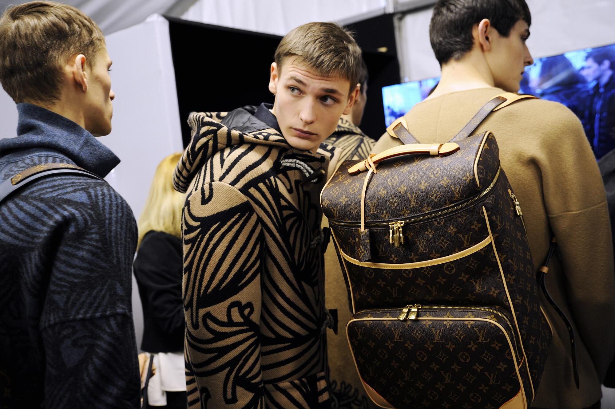 Backstage Louis Vuitton Mens Trends