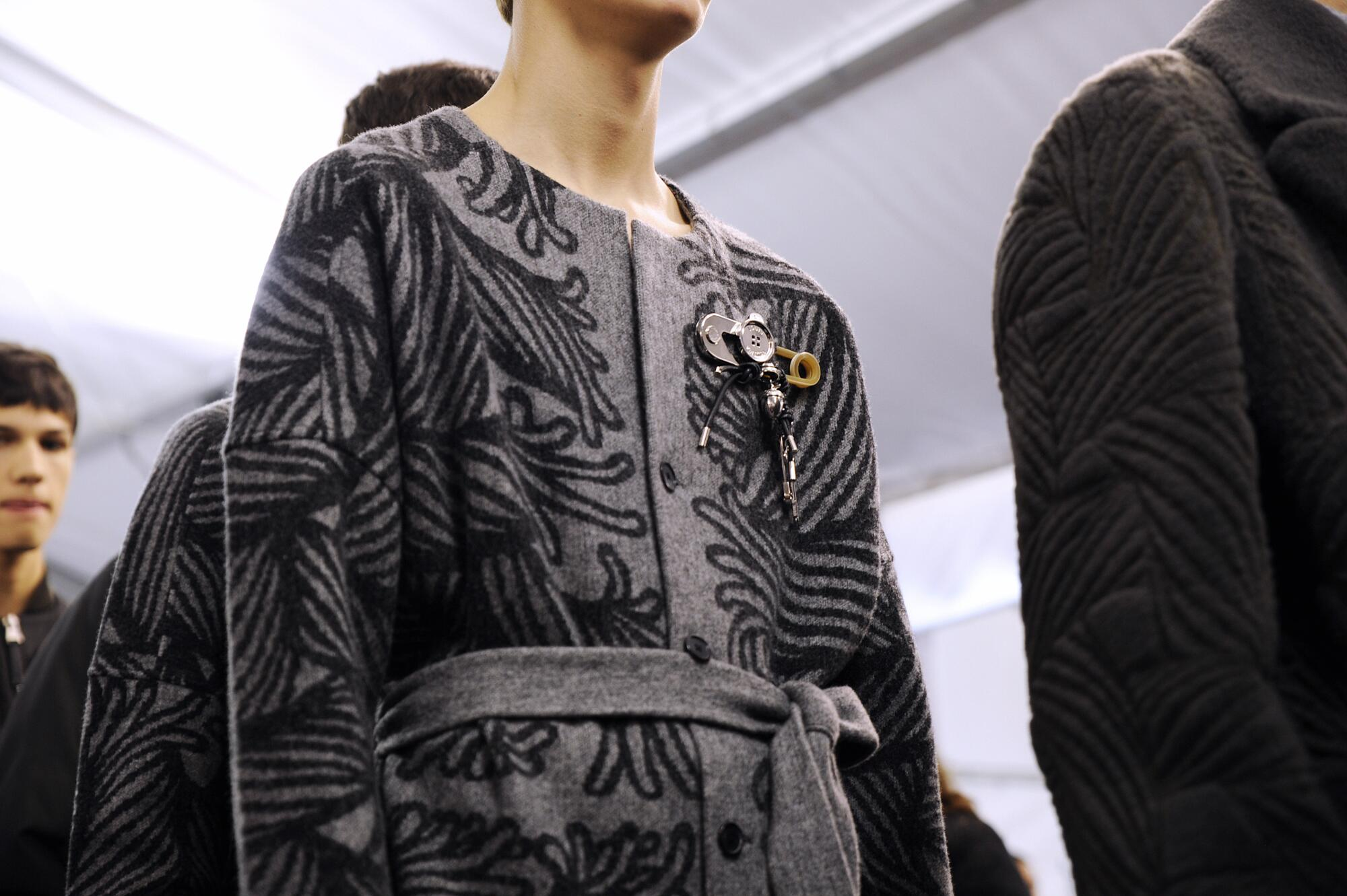 Backstage Man Model Louis Vuitton Winter 2015