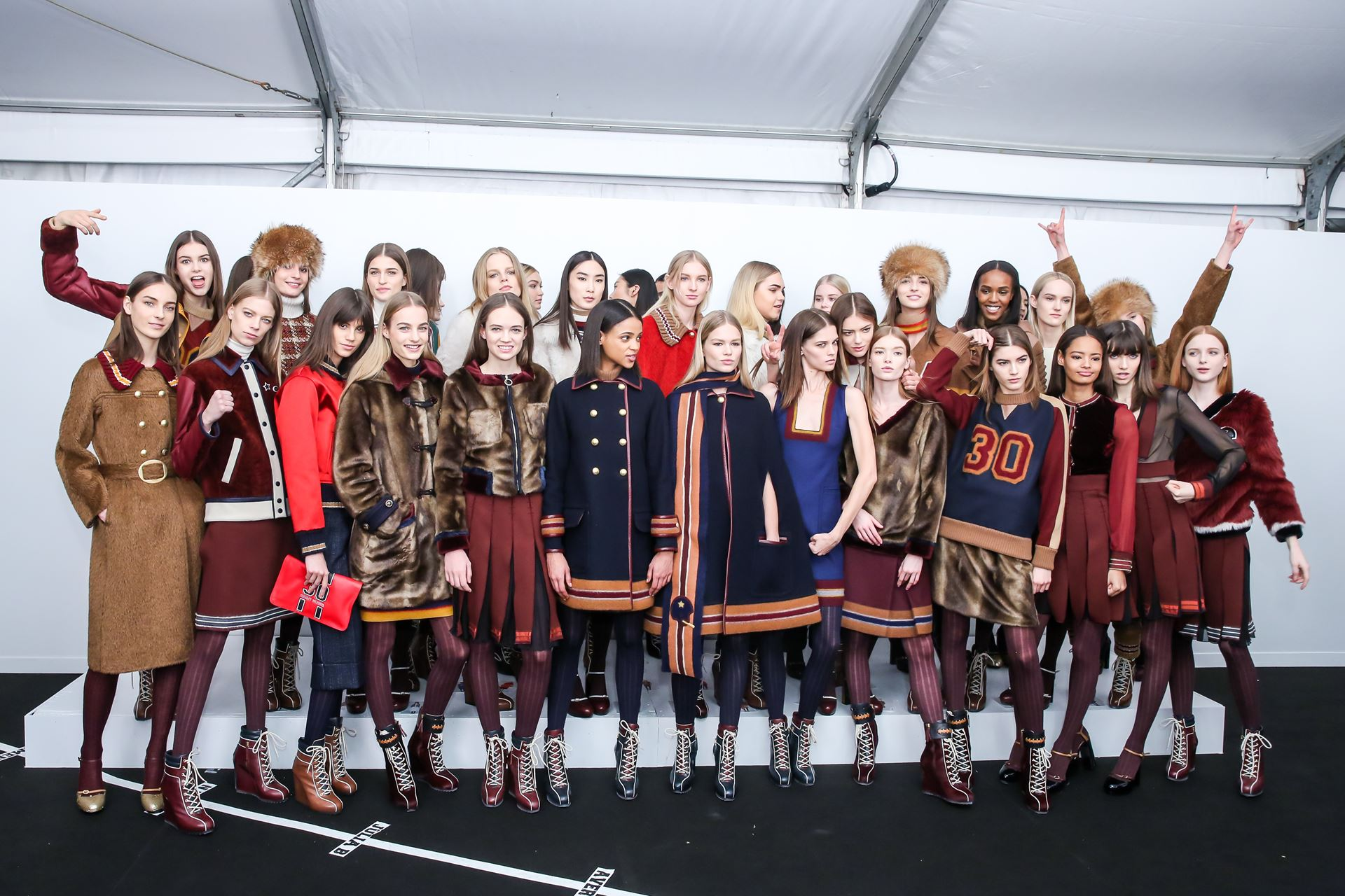 Backstage Tommy Hilfiger 2015
