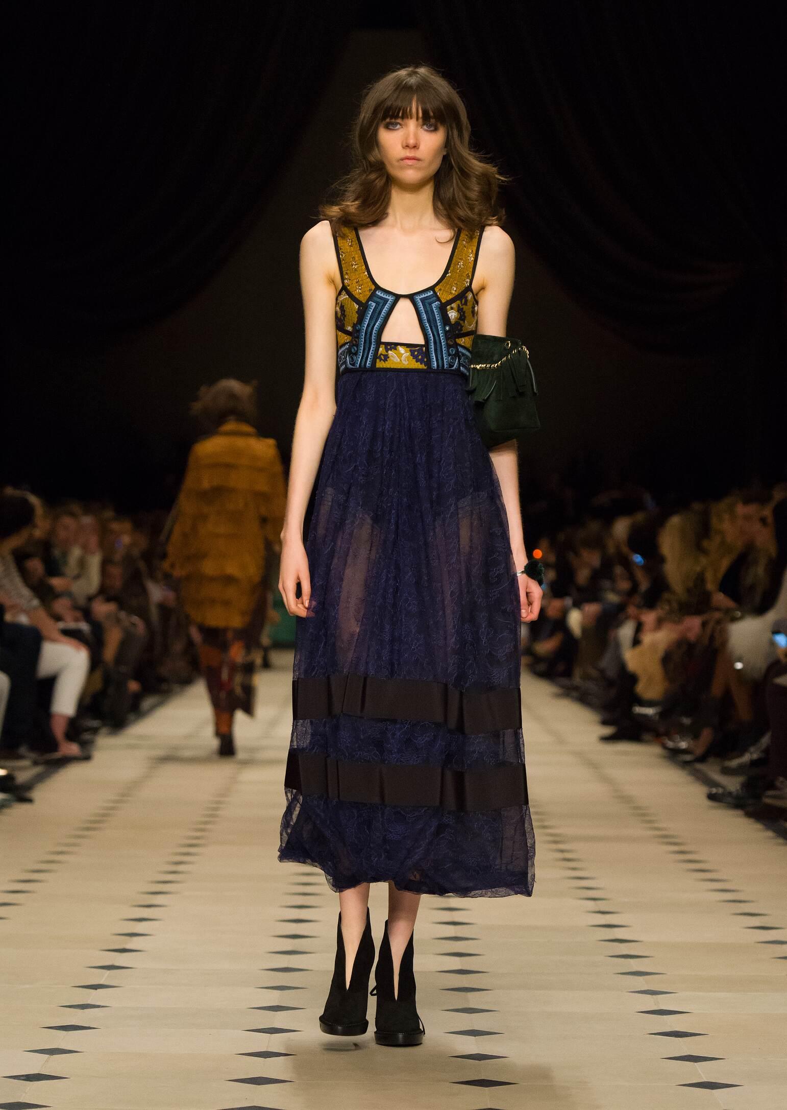Burberry Prorsum Fall Winter 2015 16 Women's Collection London Fashion Week