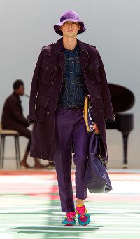 BURBERRY PRORSUM SPRING SUMMER 2015 MEN'S COLLECTION – LONDON FASHION WEEK