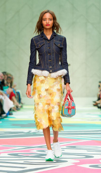 BURBERRY PRORSUM SPRING SUMMER 2015 WOMEN'S COLLECTION – LONDON FASHION WEEK