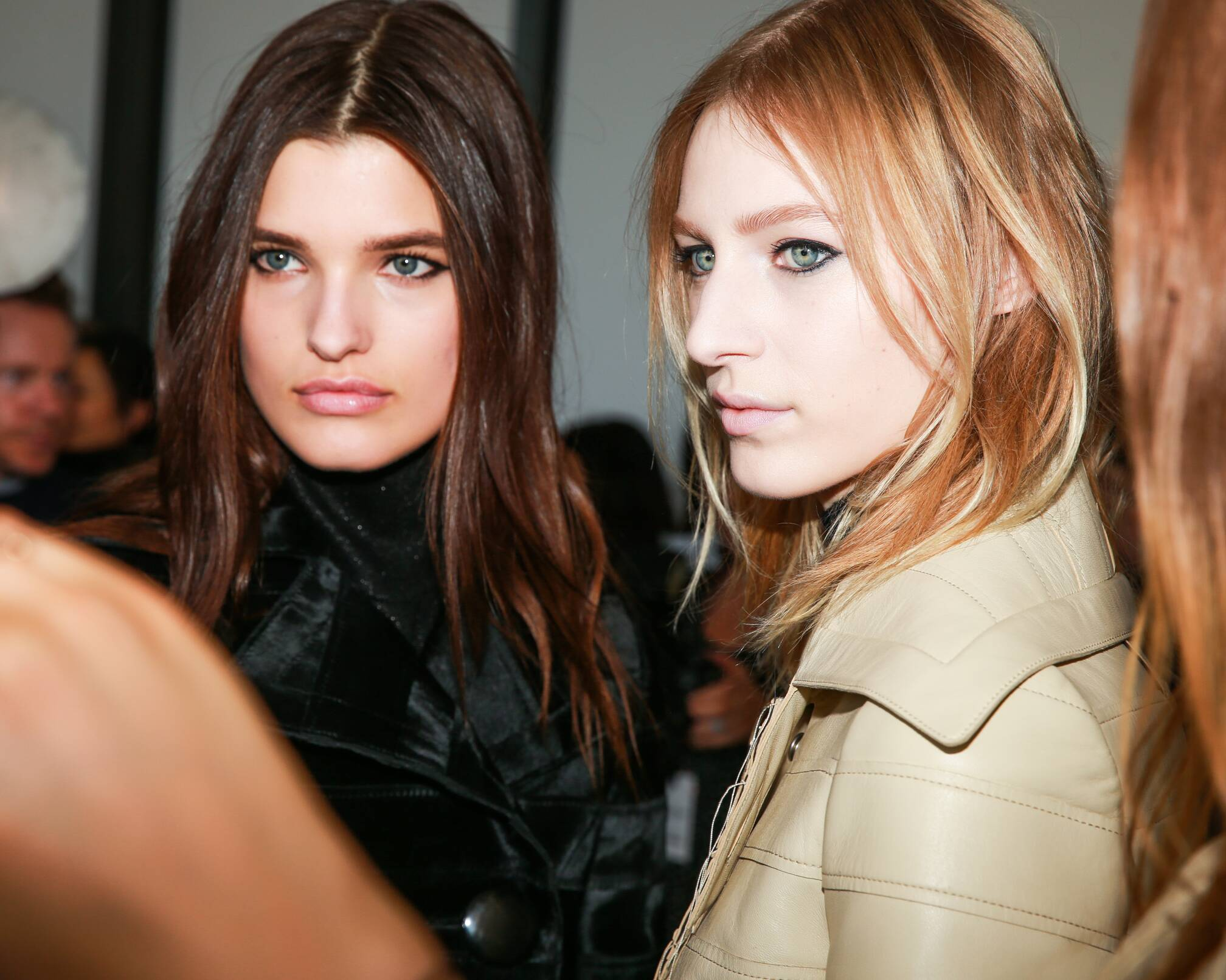 Calvin Klein Backstage Fashion Models