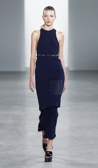 CALVIN KLEIN COLLECTION SPRING 2015 WOMEN'S COLLECTION – NEW YORK FASHION WEEK