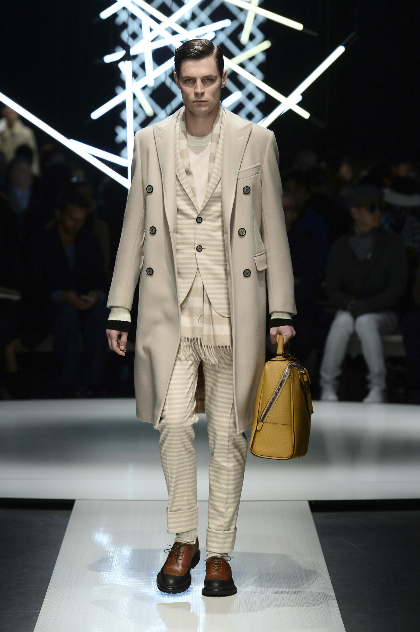 Canali Collection Winter 2015 Catwalk