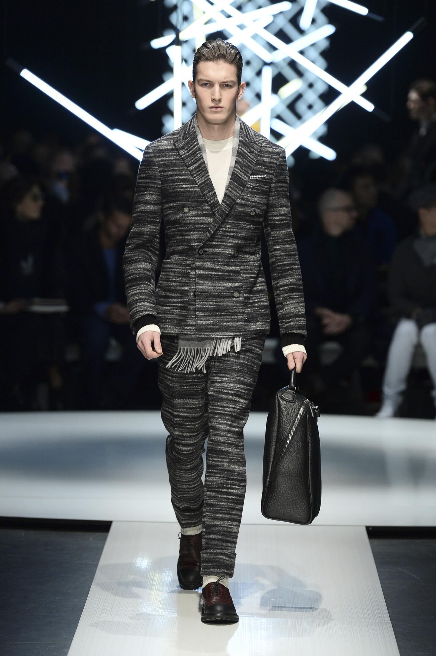 Canali Fall Winter 2015 16 Men's Collection Milan Fashion Week Fashion Show