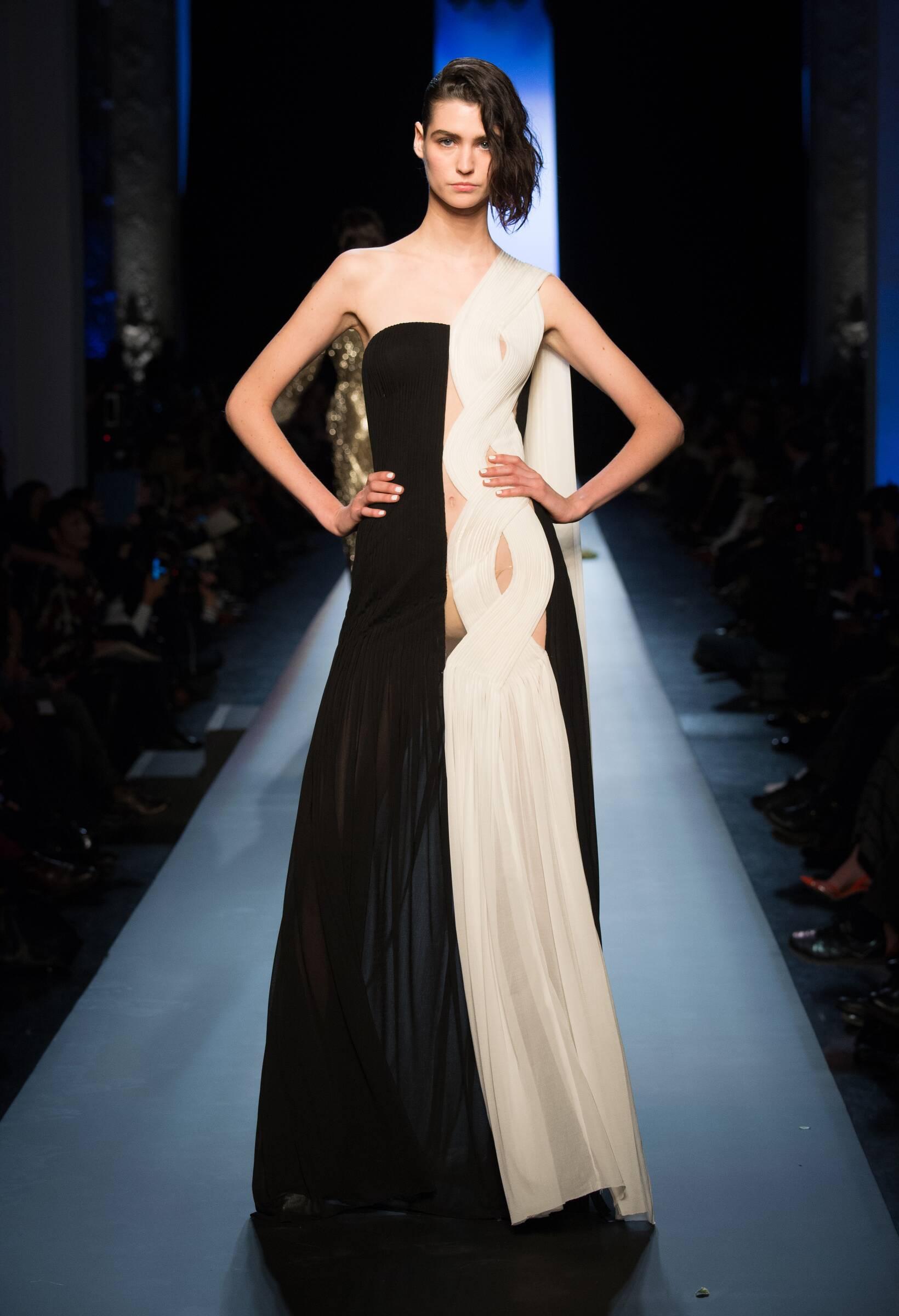 Catwalk 2015 Jean Paul Gaultier Haute Couture Collection Fashion Show Summer