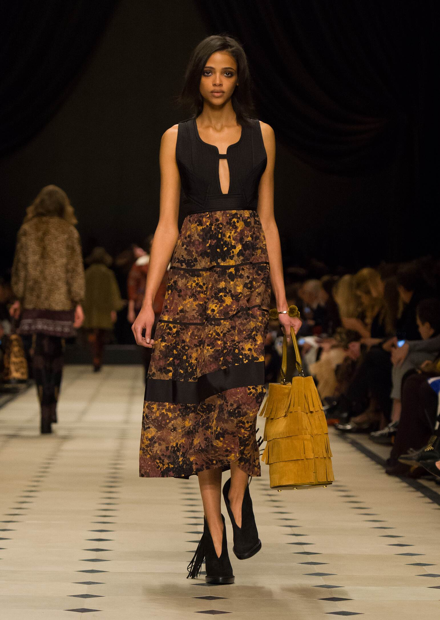 Catwalk Burberry Prorsum Collection Fashion Show Winter 2015