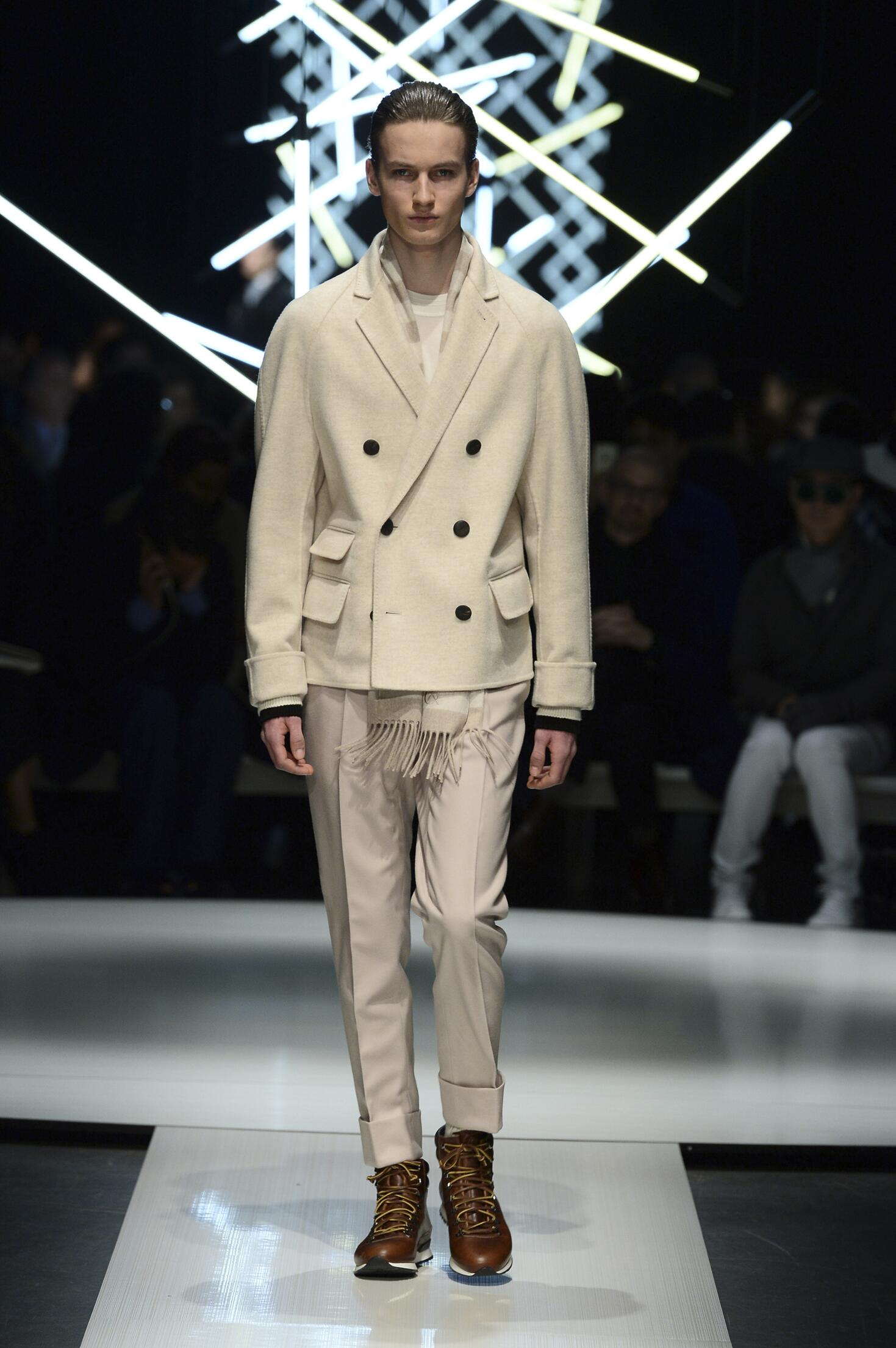 Catwalk Canali Collection Fashion Show Winter 2015