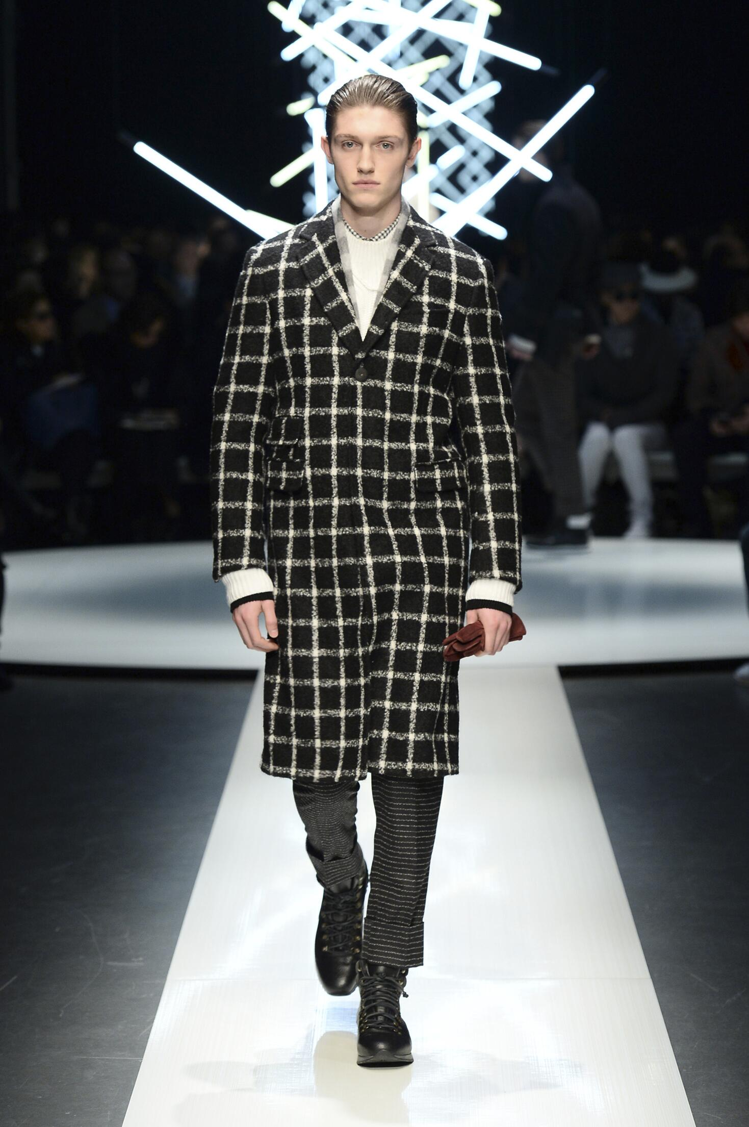 Catwalk Canali Collection Winter 2015