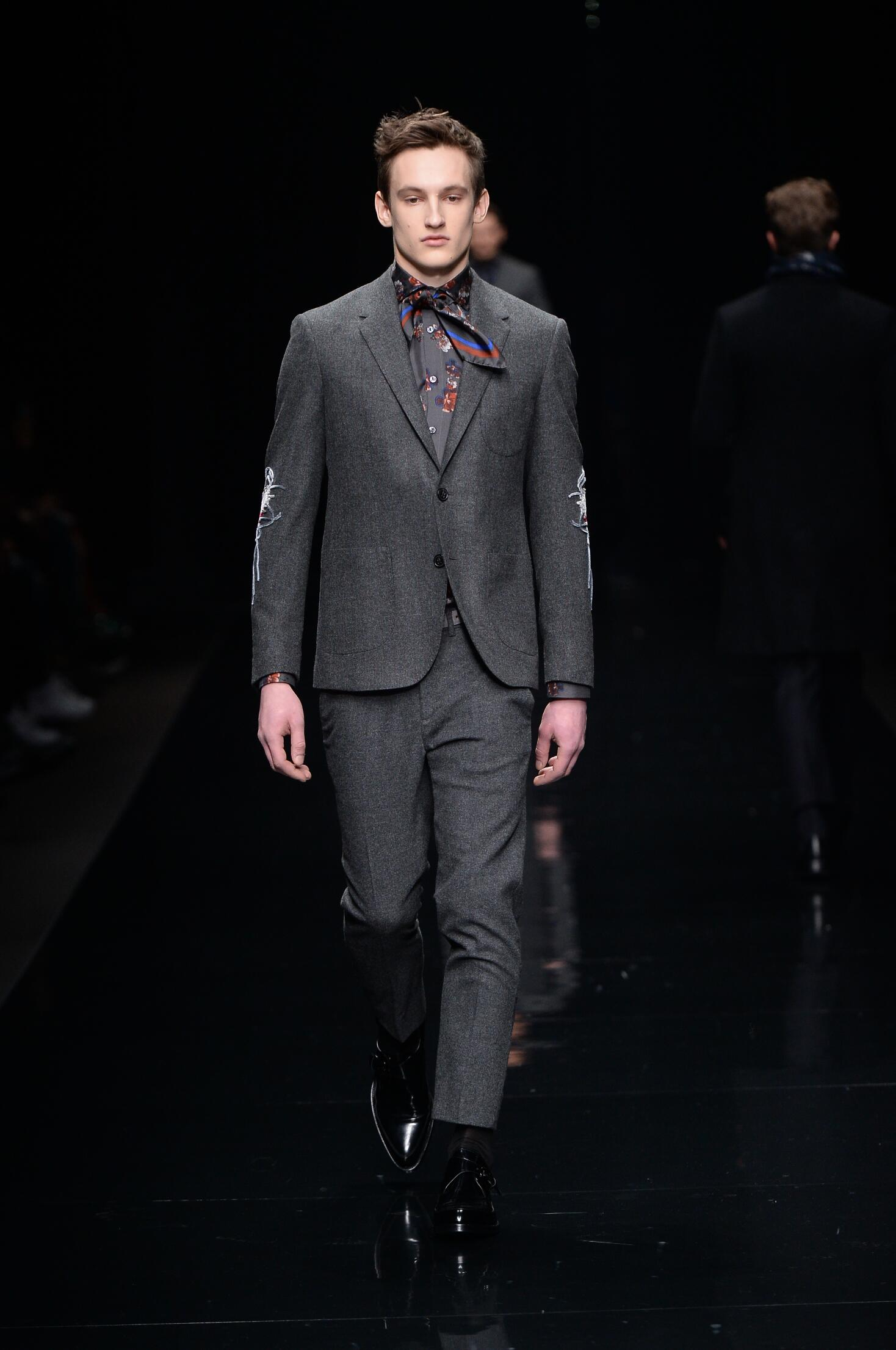 Catwalk Ermanno Scervino Collection Fashion Show Winter 2015