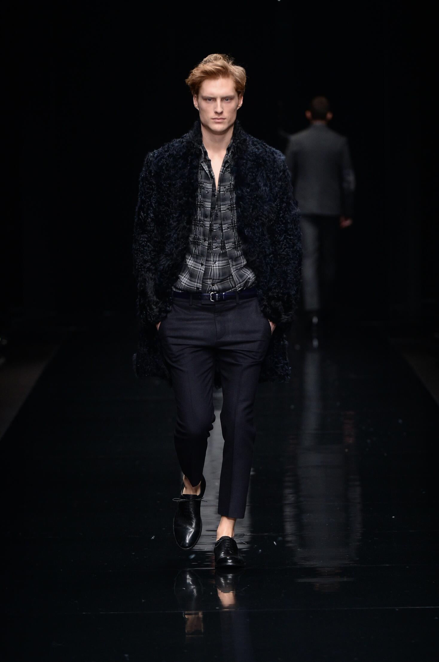 Catwalk Ermanno Scervino Fall Winter 2015 16 Men's Collection Milano Fashion Week