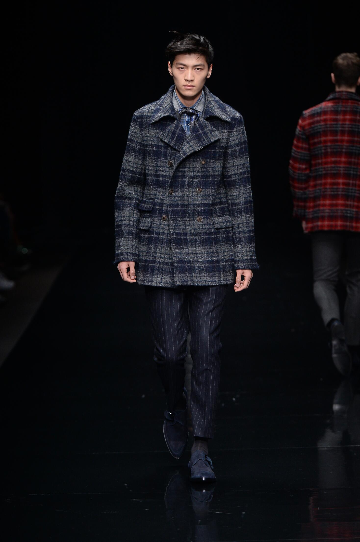 Catwalk Ermanno Scervino Man Collection Winter 2015
