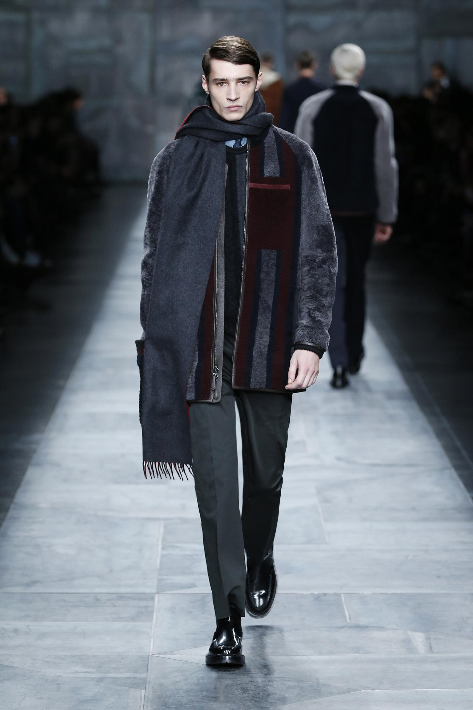 Catwalk Fendi Collection Fashion Show Winter 2015