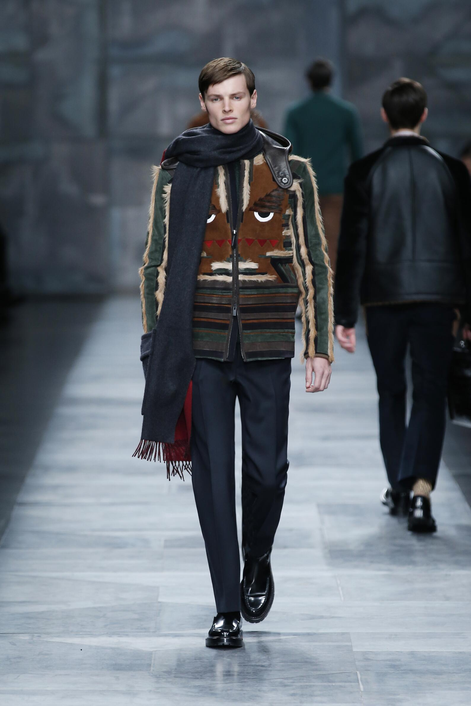 Catwalk Fendi Collection Winter 2015