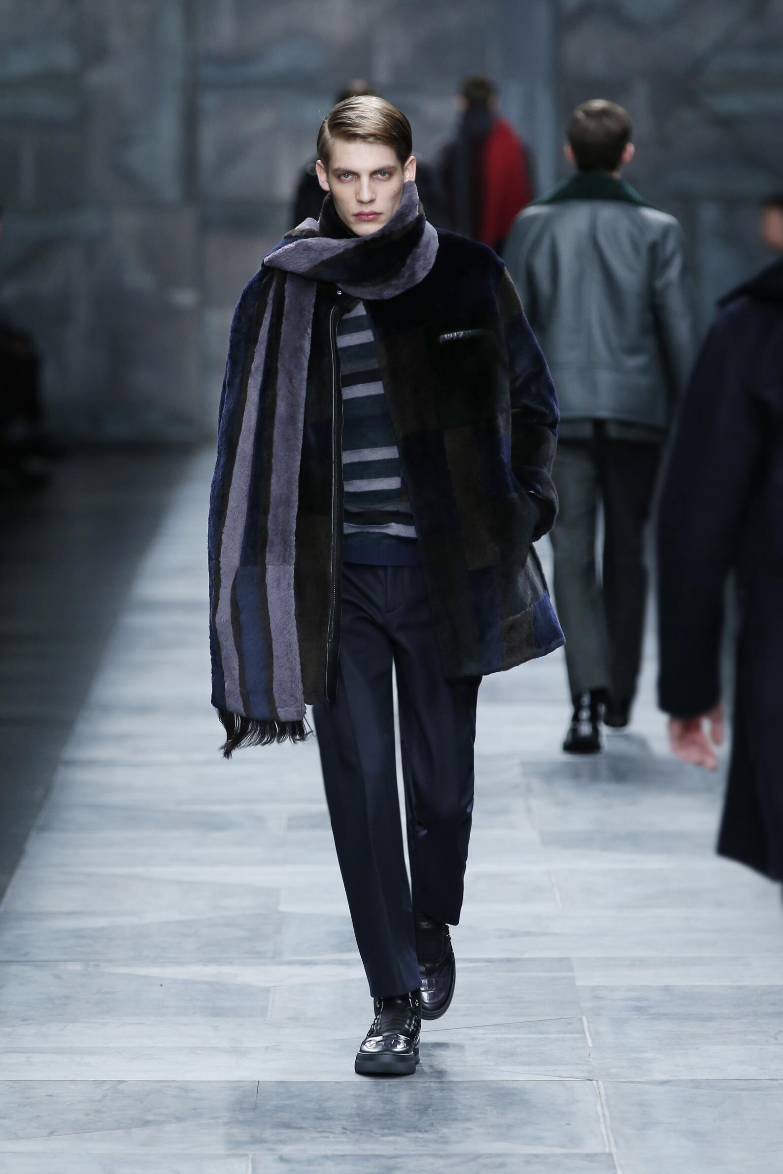 Catwalk Fendi Fall Winter 2015 16 Men's Collection Milano Fashion Week