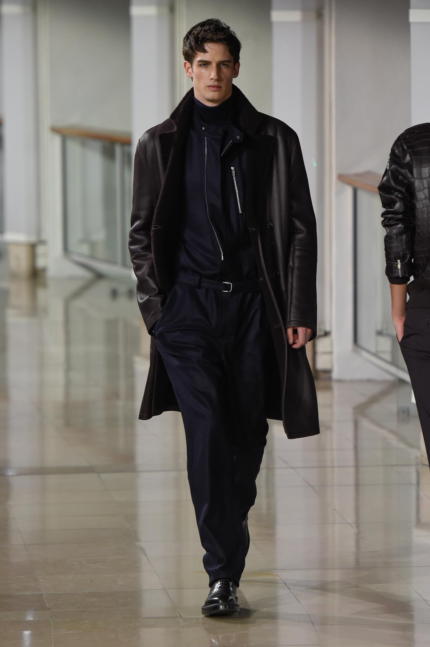 Catwalk Hermès Fall Winter 2015 16 Men's Collection Paris Fashion Week